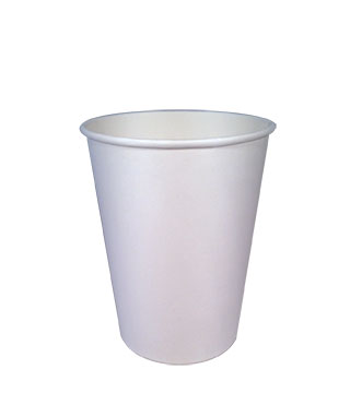 12oz-1 Gobelets en papier compostable à simple paroi