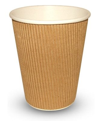 12ozRIP-331x400-1-331x400 340ml (12oz)<br>Kraft Ripple Paper Cup<br>500 per case