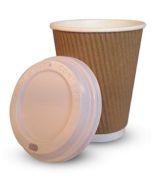 WhiteLid-1 White sip-through lids for<br>225ml (8oz) cups<br>1000 per case