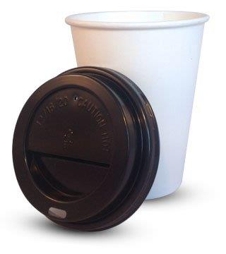 blacklid2-1 Black sip-through lids for<br>340ml (12oz) & 455ml (16oz) cups<br>1000 per case