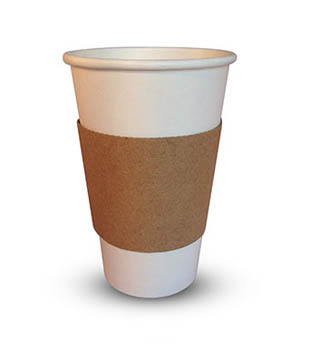 Sleeve678-1 Paper Cup Trays and Sleeves